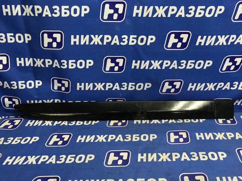 Накладка двери Mitsubishi Pajero Sport 2 KH 2008 задняя правая (б/у)