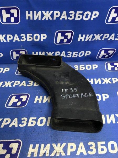 Воздухозаборник (внутри) Hyundai Ix35 LM передний (б/у)