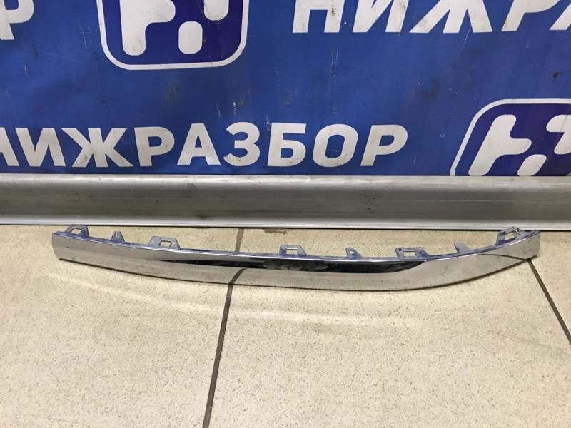 Молдинг бампера Volkswagen Touareg Nf 2010 правый (б/у)