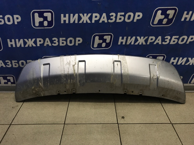 Накладка бампера Mitsubishi Outlander Xl CW передняя (б/у)