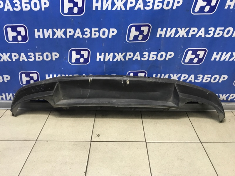 Юбка бампера Skoda Octavia A7 2013> задняя (б/у)