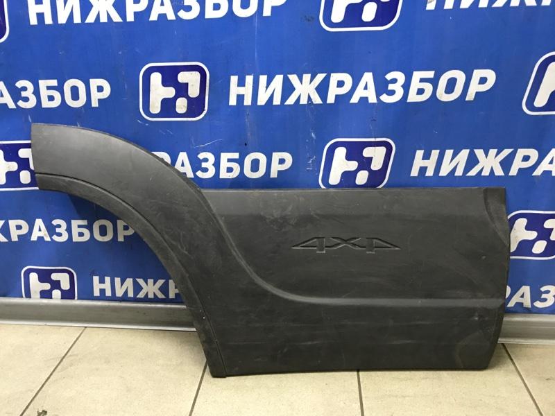 Накладка двери Chevrolet Niva задняя правая (б/у)