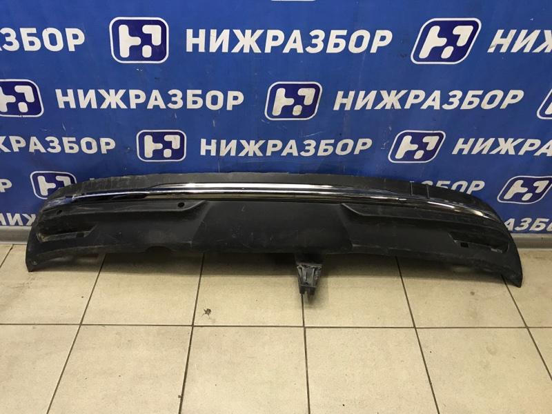Юбка бампера Citroen C4 задняя (б/у)