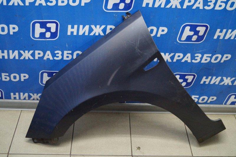 Крыло Hyundai Solaris переднее левое (б/у)