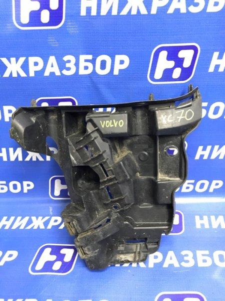 Кронштейн бампера Volvo Xc 70 2007 передний правый (б/у)