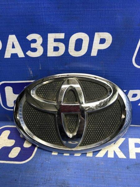 Значок (эмблема) Toyota Corolla 150 2006 передний (б/у)