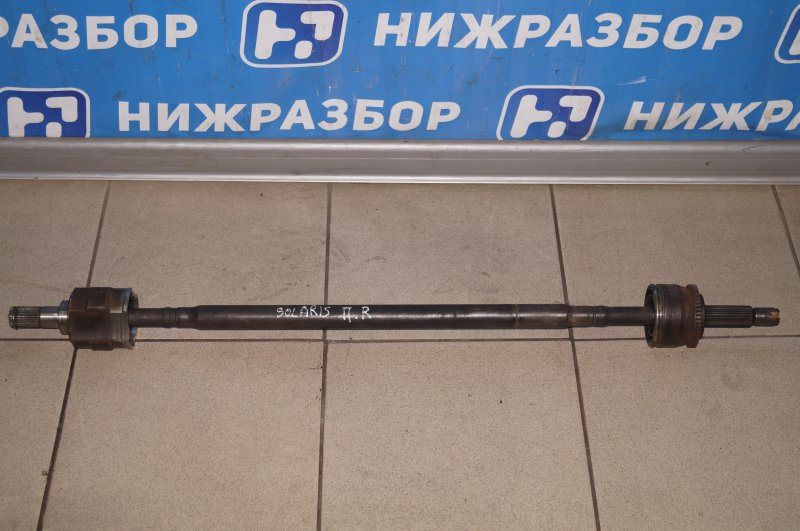 Привод Hyundai Solaris RB 1.4 (G4FA) 2013 передний правый (б/у)