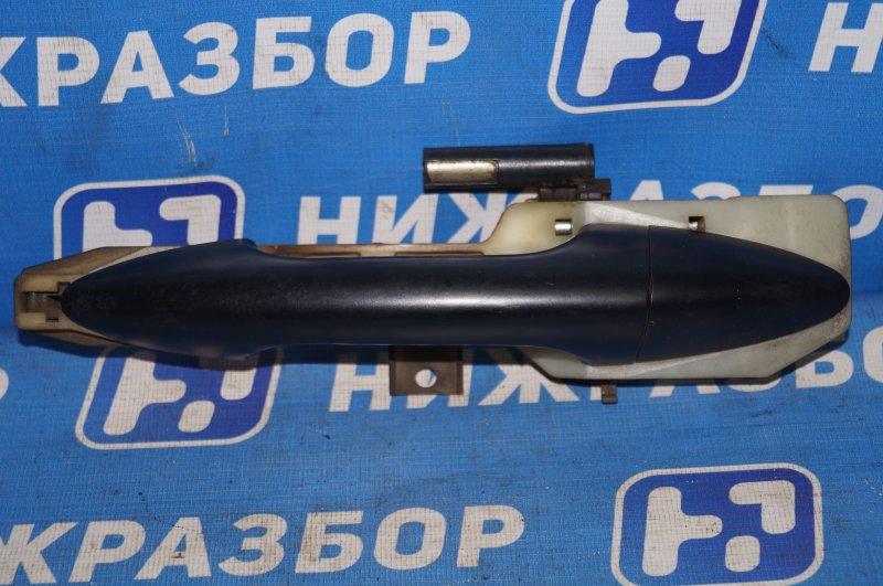 Ручка двери Hyundai Solaris RB 1.4 (G4FA) 2013 задняя левая (б/у)