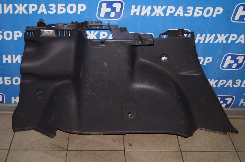 Обшивка багажника Renault Duster 2.0 F4RA400 2013 левая (б/у)