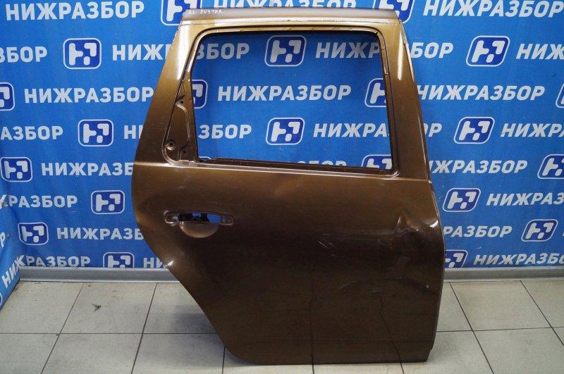 Дверь Renault Duster 2.0 F4RA400 2013 задняя правая (б/у)