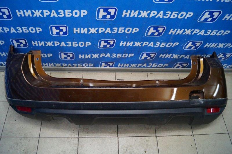 Бампер Renault Duster 2.0 F4RA400 2013 задний (б/у)