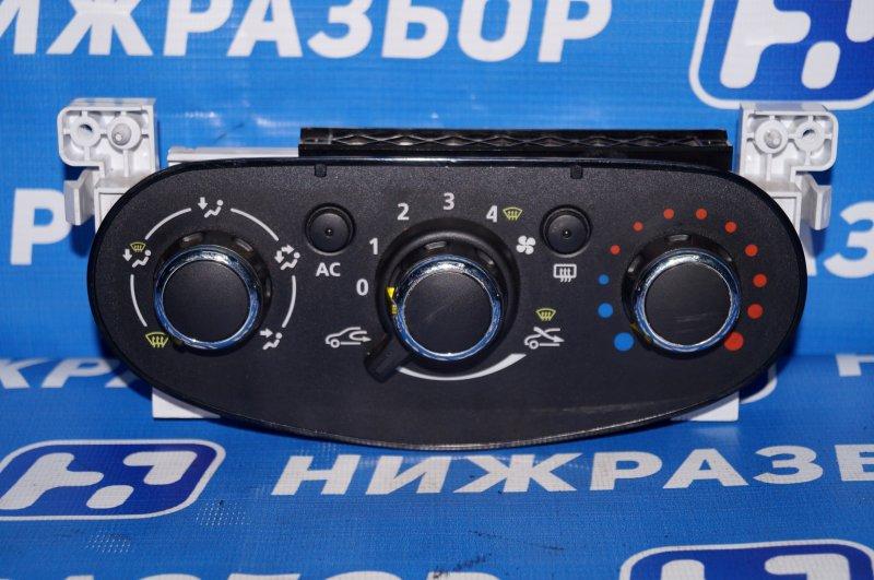 Блок управления отопителем Renault Duster 2.0 F4RA400 2013 (б/у)