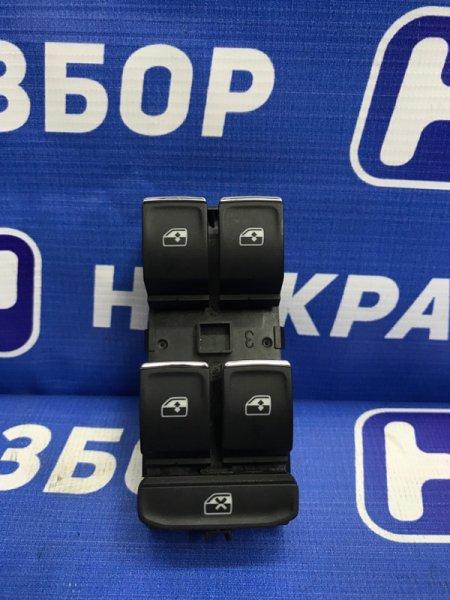 Блок управления стеклоподъемниками Volkswagen Passat B8 2014> (б/у)