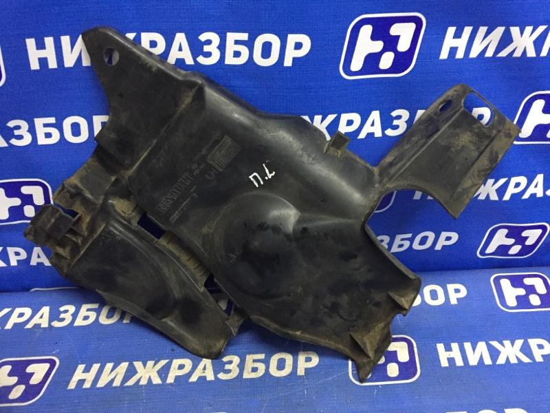 Пыльник двигателя Renault Duster 2.0 F4RA400 2013 левый (б/у)