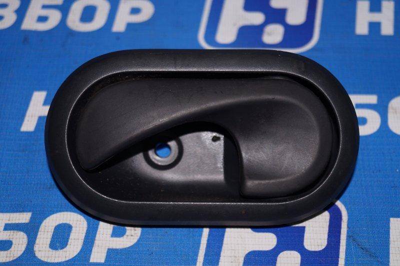 Ручка двери внутренняя Renault Duster 2.0 F4RA400 2013 задняя левая (б/у)