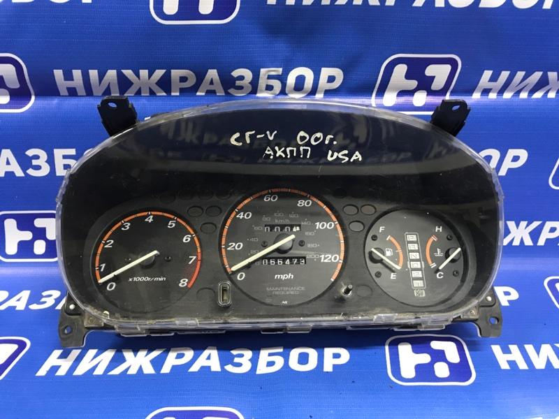 Панель приборов Honda Cr-V 1 1996 (б/у)