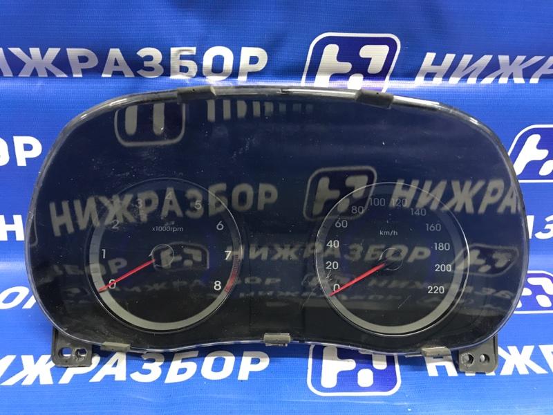 Панель приборов Hyundai Solaris (б/у)