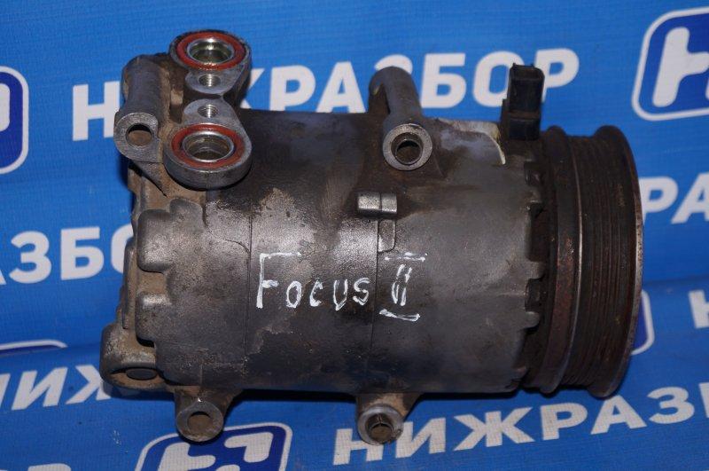 Компрессор кондиционера Ford Focus 2 1.6 (HXDA) 2005 (б/у)