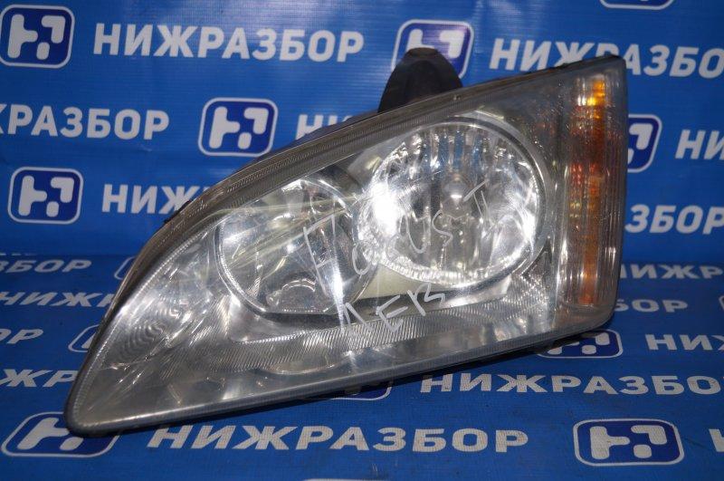 Фара Ford Focus 2 1.6 (HXDA) 2005 левая (б/у)