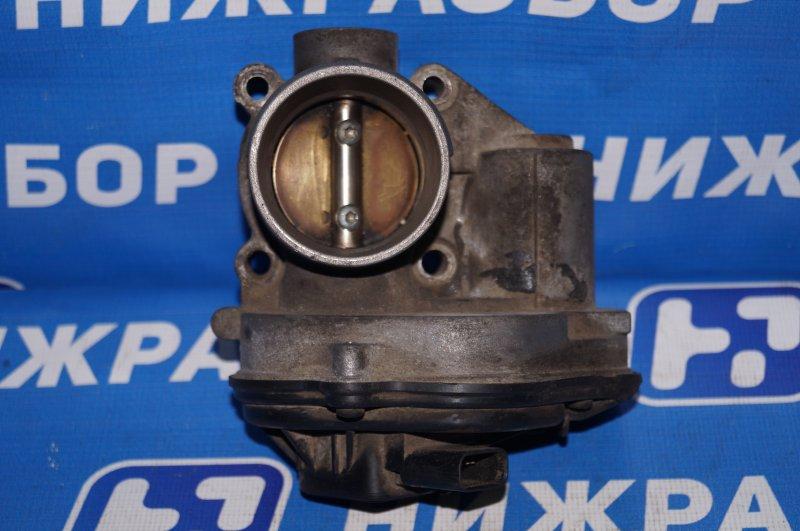Заслонка дроссельная Ford Focus 2 1.6 (HXDA) 2005 (б/у)