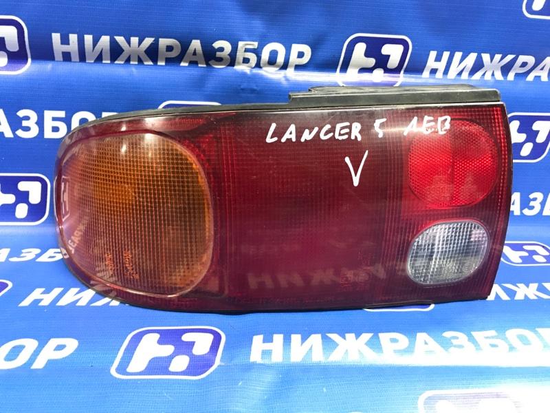 Фонарь Mitsubishi Lancer 5 задний левый (б/у)
