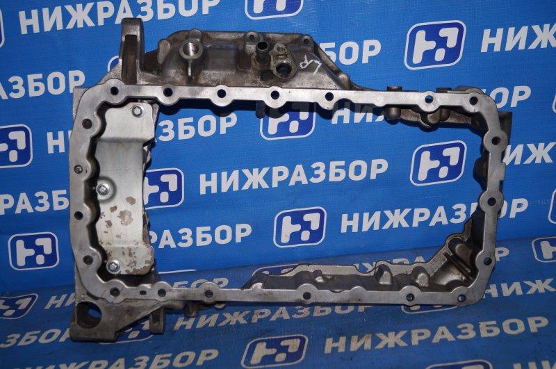 Поддон масляный двигателя Land Rover Freelander 2 2007-2014 2.2 TDI (224DT) 2008 верхний (б/у)