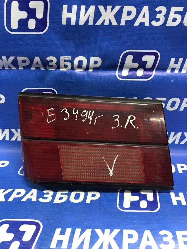 Фонарь Bmw 5-Серия E34 1988 задний правый (б/у)