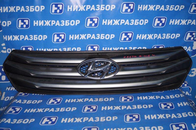 Решетка радиатора Hyundai Creta (б/у)