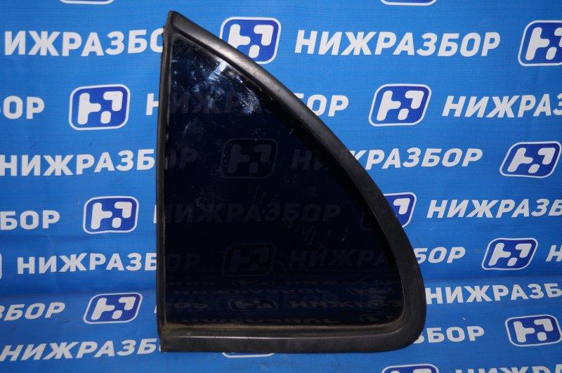 Форточка двери Nissan Almera N15 GA15DE 1999 задняя левая (б/у)