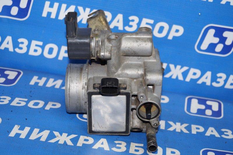 Заслонка дроссельная Nissan Almera N15 GA15DE 1999 (б/у)