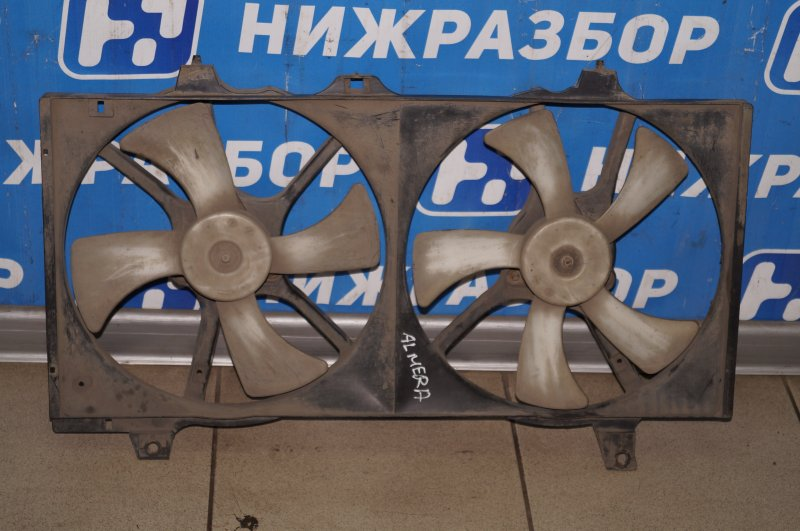 Вентилятор радиатора Nissan Almera N15 GA15DE 1999 (б/у)