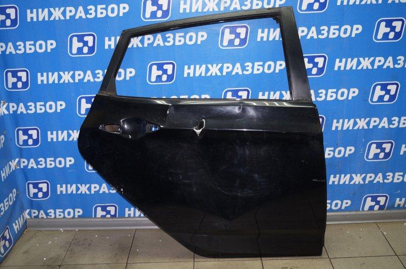 Дверь Hyundai Solaris RB 1.4 (G4FA) 2013 задняя правая (б/у)