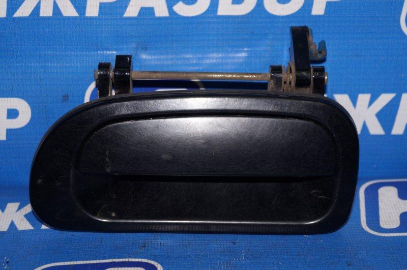 Ручка двери наружная Daewoo Nexia 1.5 A15MF 2005 левая (б/у)