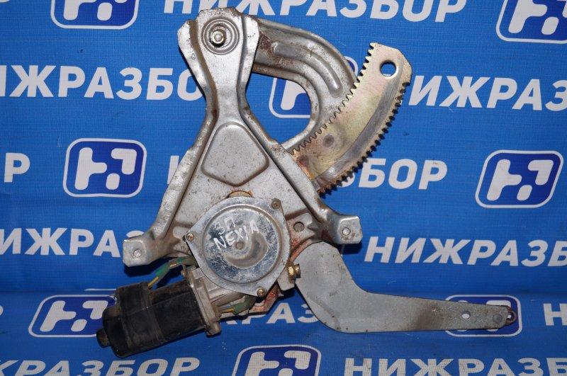 Стеклоподъемник эл. Daewoo Nexia 1.5 A15MF 2005 задний правый (б/у)