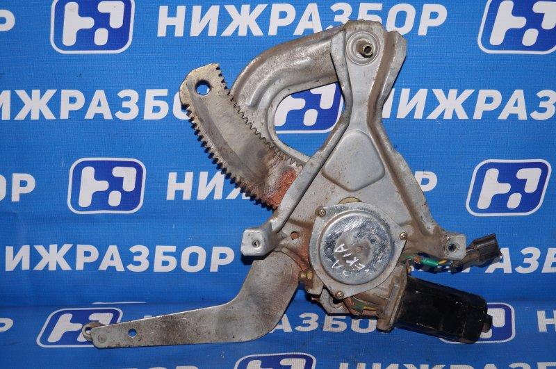Стеклоподъемник эл. Daewoo Nexia 1.5 A15MF 2005 задний левый (б/у)