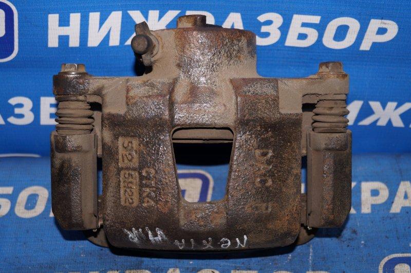 Суппорт Daewoo Nexia 1.5 A15MF 2005 передний правый (б/у)
