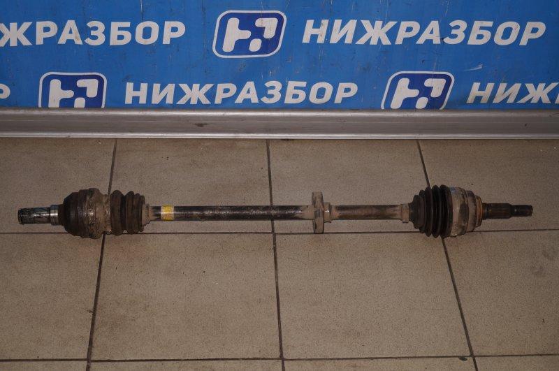 Привод Daewoo Nexia 1.5 A15MF 2005 передний правый (б/у)