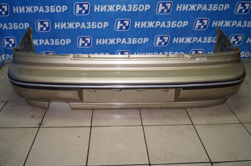 Бампер Daewoo Nexia 1.5 A15MF 2005 задний (б/у)