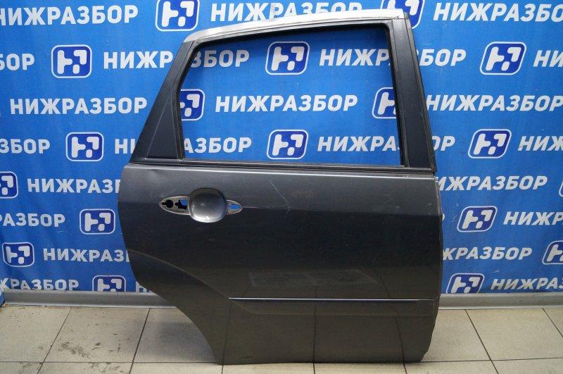 Дверь Ford Focus 1 2.0 ZETEC 2002 задняя правая (б/у)