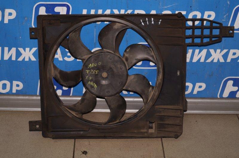 Вентилятор радиатора Chevrolet Aveo T250 1.4 (F14D3) (б/у)