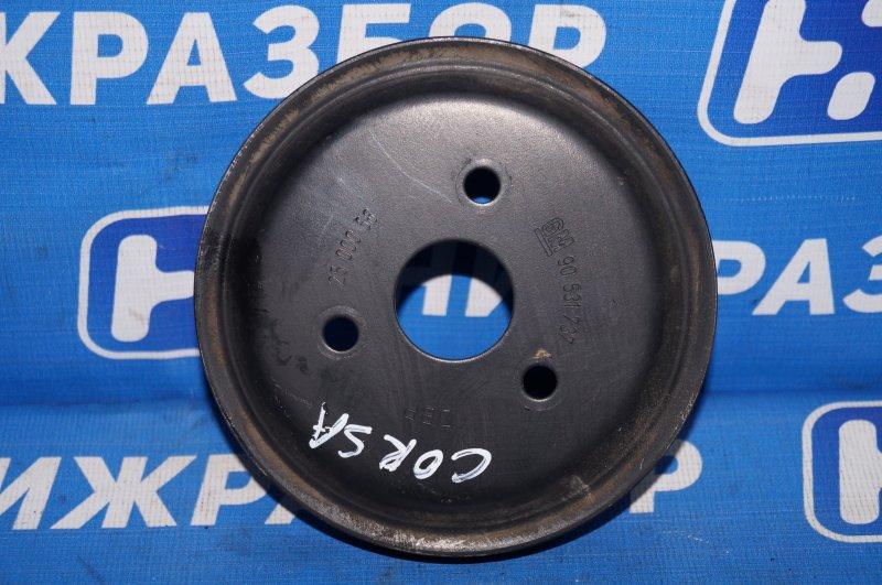 Шкив помпы Opel Corsa D 1.2 Z12XEP 2008 (б/у)