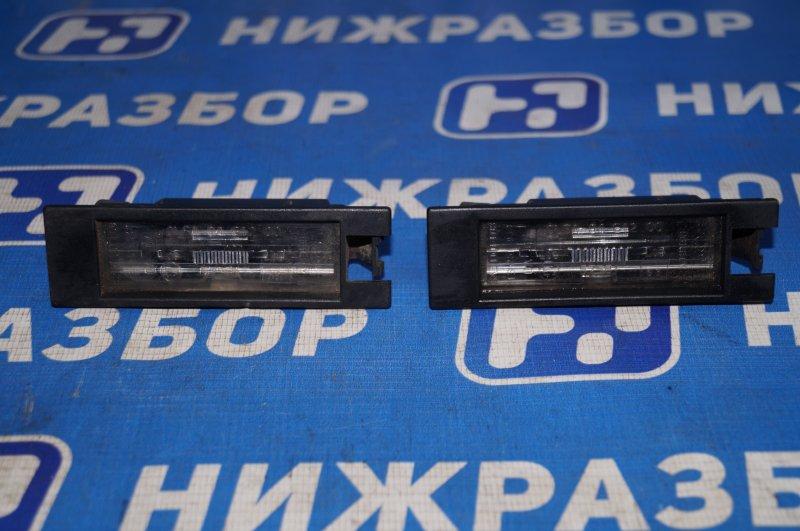 Фонарь подсветки номера Opel Corsa D 1.2 Z12XEP 2008 задний (б/у)