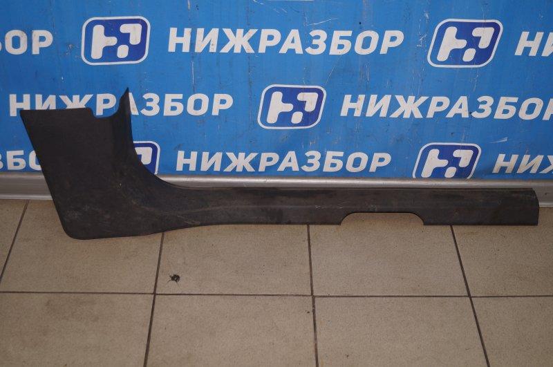 Накладка порога (внутренняя) Opel Corsa D 1.2 Z12XEP 2008 правая (б/у)
