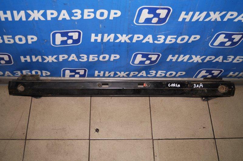 Усилитель бампера Opel Corsa D 1.2 Z12XEP 2008 задний (б/у)