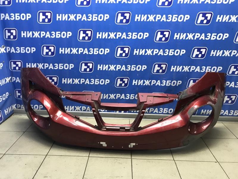 Бампер Nissan Juke F15 передний (б/у)