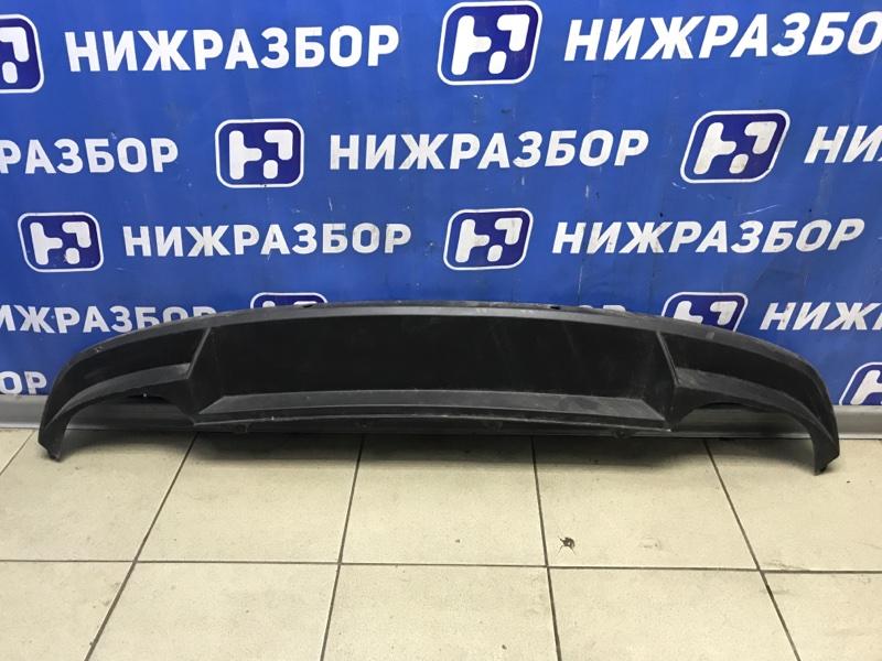 Юбка бампера Skoda Octavia A7 задняя (б/у)
