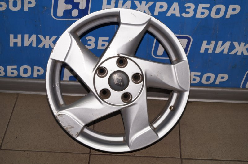 Диск литой Renault Duster 2.0 F4RB403 2012 (б/у)