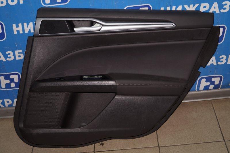 Обшивка двери Ford Mondeo 5 2.0 (TNCC) 2017 задняя правая (б/у)