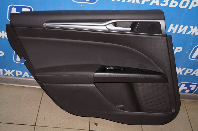 Обшивка двери Ford Mondeo 5 2.0 (TNCC) 2017 задняя левая (б/у)