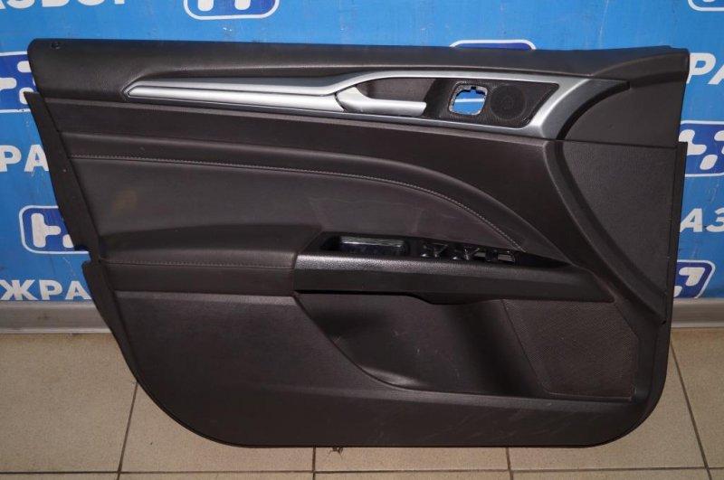Обшивка двери Ford Mondeo 5 2.0 (TNCC) 2017 передняя левая (б/у)